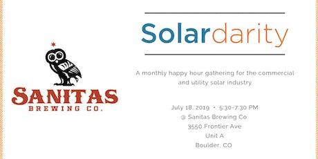 Solardarity July 2019 tickets