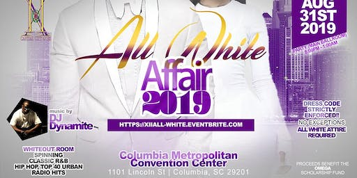ALL WHITE AFFAIR (2019) HOSTED BY THE CAPITAL CITY QUES