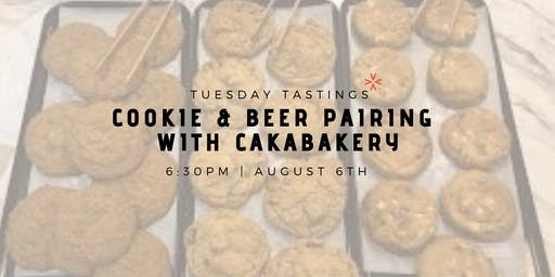 Cookie & Beer Pairing with Cakabakery