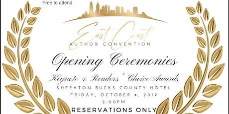#ECAC19 Opening Ceremonies tickets