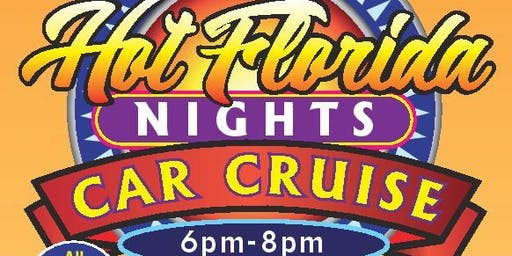 Hot Florida Nights Car Cruise at the Delray Marketplace