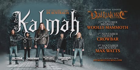 KALMAH - Sydney tickets
