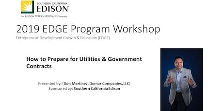 Free Training on Doing Business with Utilities and Government Contracting tickets
