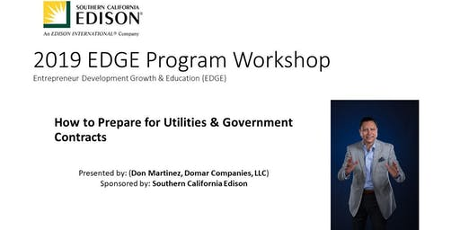 Free Training on Doing Business with Utilities and Government Contracting