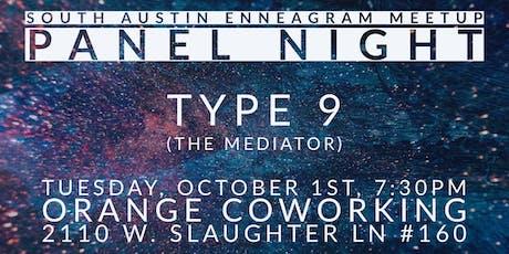 South Austin Enneagram Meetup Panel: Type 9 tickets