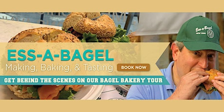 Ess-a-Bagel Making, Baking & Tasting Experience (Bakery & Food Tour) tickets