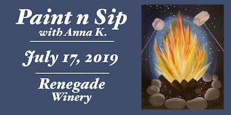 Paint n Sip- Campfire tickets