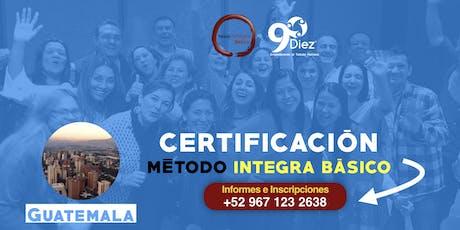 Certificación Metodo integra Básico Guatemala entradas