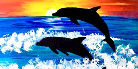 Dolphins at Dusk Paint Night tickets
