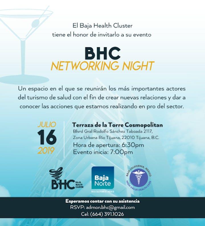 Bhc Networking Night 17 Jul 2019