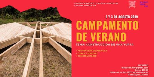 Taller de construcción de Yurta