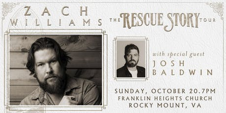 Zach Williams: Rescue Story - The Tour | Rocky Mount, VA tickets