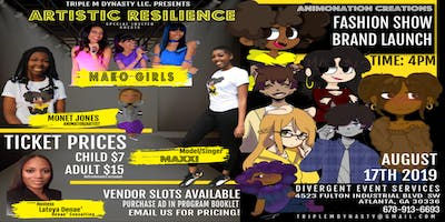 Artistic Resilience Brand Launch & Fashion Show 2019