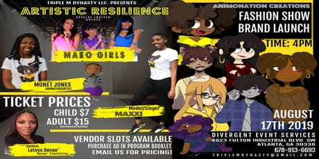Artistic Resilience Brand Launch & Fashion Show 2019 tickets