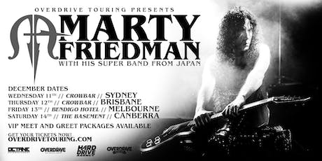 MARTY FRIEDMAN - Melbourne tickets