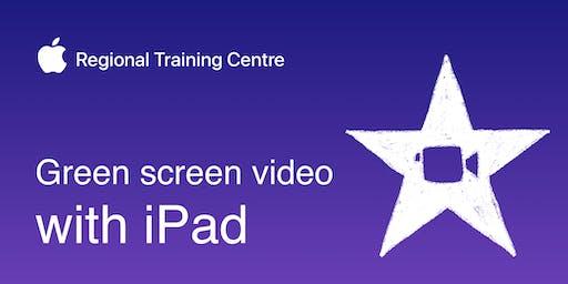 Green screen video with iPad