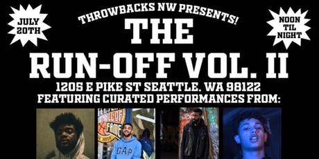 THE RUN-OFF VOL. 2 tickets