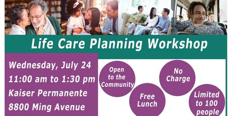 Kaiser Permanente - Life Care Planning Workshop tickets