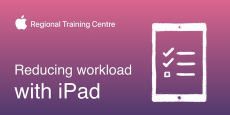 Reducing workload with iPad tickets