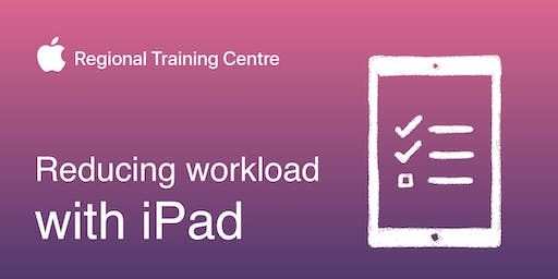Reducing workload with iPad