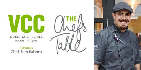 Chef's Table special edition - Sam Fabbro tickets
