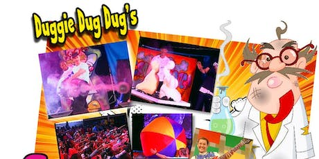 Duggie Dug Dug's Crazy Science Family Concert tickets