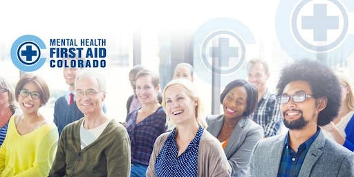 Adult Mental Health First Aid Class - October 30th and November 6th, 2019