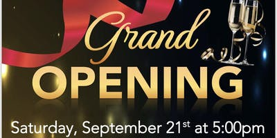 Grand Opening Party! FREE OF CHARGE!