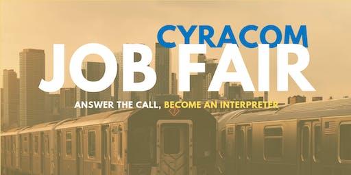 CyraCom Career Fair - Queens NY