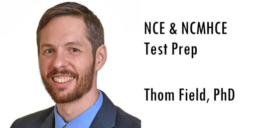 NCE/CPCE Test Prep (Sept, Friday @ 5:00 PM EST)