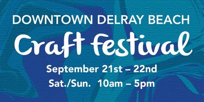 25th Annual Downtown Delray Beach Craft Festival