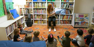Library with Montclare Children's School's Lindsay Andretta