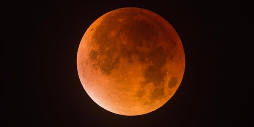 Lunar Eclipse at Brecon Beacons National Visitor Centre