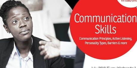 Communication Skills tickets