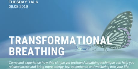 Tuesday Talk: Transformational Breathing tickets