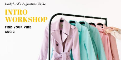 Find Your Style Vibe: Intro Workshop tickets
