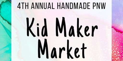 4th Annual Kids' Maker Market at 3rd Thursday TAM