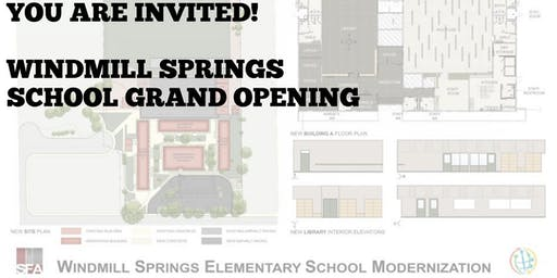 Windmill Springs School Grand Opening Ceremony