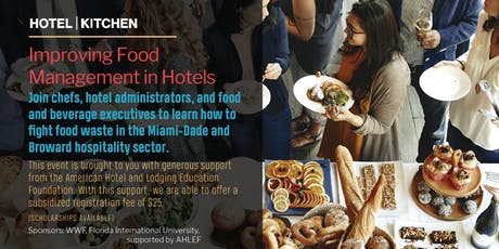 Improving Food Management in Hotels tickets