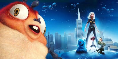 Free Family Film Screening: Monsters vs. Aliens
