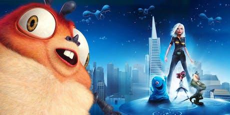 Free Family Film Screening: Monsters vs. Aliens tickets