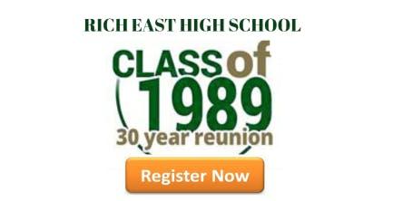 Rich East High School Class of '89 30-Year Reunion