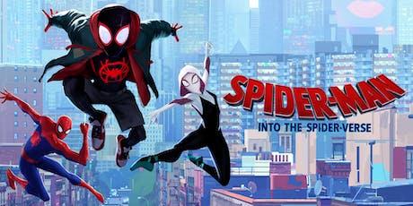 Summer Wonder Movie: Spider-man: Into the Spider-verse tickets