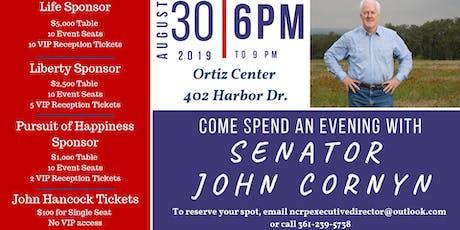 An Evening with John Cornyn tickets