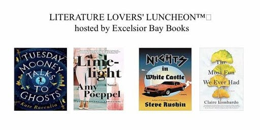 LITERATURE LOVERS' LUNCHEON™️ hosted by Excelsior Bay Books
