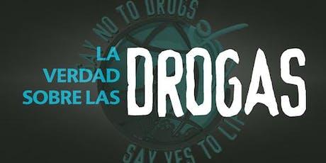 Taller Especialista en Educación de un Mundo Libre de Drogas 9 agosto 19 tickets