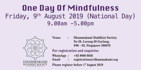 One Day of Mindfulness 2019 tickets