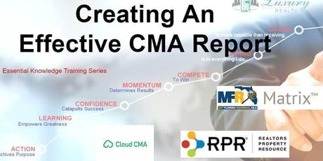 How to Create and Present a Winning CMA - Time for Success tickets