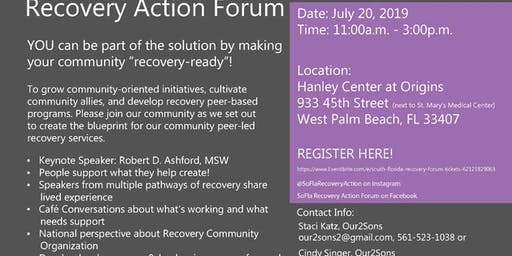 South Florida Recovery Forum