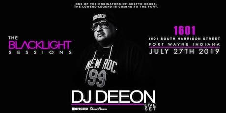 Blacklight Sessions: DJ Deeon tickets